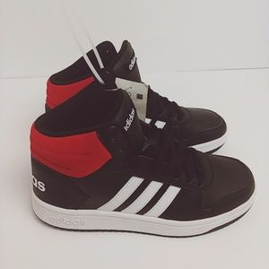 the latest e37fe ed344 adidas Shoes - ADIDAS  Mid Hoops 2.0 Basketball shoes black   red